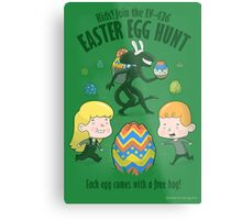 A Xenomorph Easter Special Metal Print
