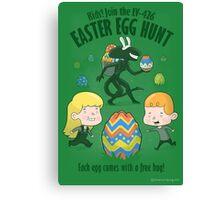 A Xenomorph Easter Special Canvas Print