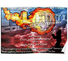 Planet X - Collision Course: Earth Poster
