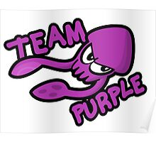 SPLATOON TEAM PURPLE Poster
