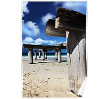 Jetty Ruins Poster