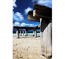 Jetty Ruins Photographic Print