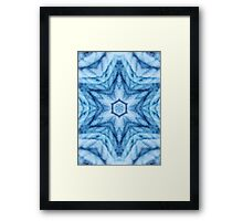 Whoa, .. that's cold! Framed Print