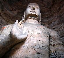 Yungang  Grottoes 2 by Sophie Xing