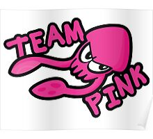 SPLATOON TEAM PINK Poster