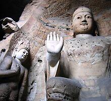 Yungang  Grottoes 3 by Sophie Xing