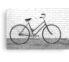 Another Vintage Bicycle.... Canvas Print