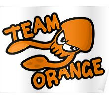SPLATOON TEAM ORANGE Poster