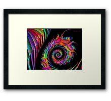 Patterned Fractal Framed Print