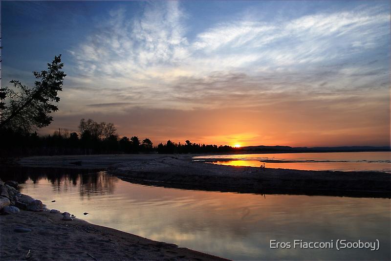 Sunrise north of Batchewana Bay Lake Superior by Eros Fiacconi (Sooboy)