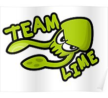 SPLATOON TEAM LIME Poster