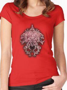 Helm of Doom Women's Fitted Scoop T-Shirt