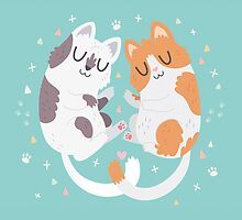 Kitty Cuddles by Claire Stamper