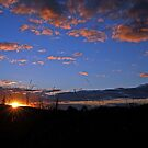 Sunrise At Cedar Creek, Brisbane, Queensland, Australia. by Ralph de Zilva