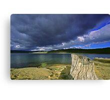 Stormy Lake - Jindabyne, NSW Canvas Print