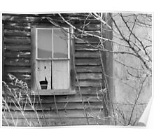 Window Of Past - Maine Poster