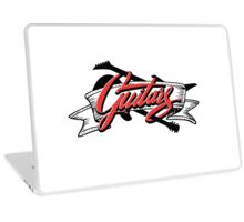 Two Guitars banner Laptop Skin