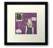 I Danced 'til I Got Dizzy and Forgot How to Do the Step Framed Print