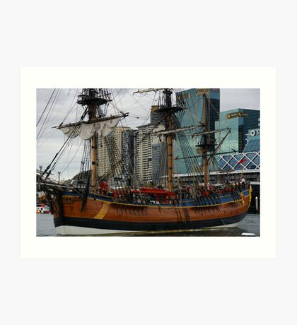 You Went Shopping At The Sails? Art Print