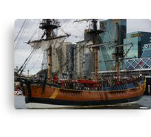 You Went Shopping At The Sails? Canvas Print
