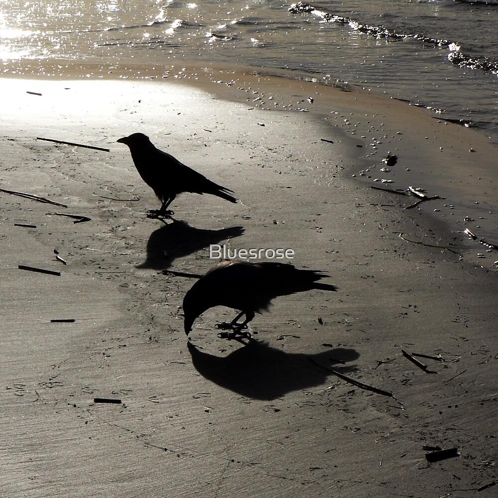 On the beach. II by Bluesrose
