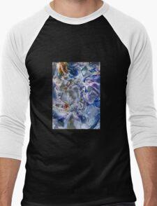 Morphic fields of the mysterious mind Men's Baseball ¾ T-Shirt