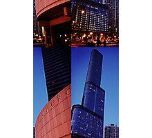 Skyscraper Offset Photographic Print