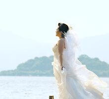 a bride by the sea by michaelsz