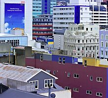 Downtown City - Wellington, New Zealand by graphicscapes