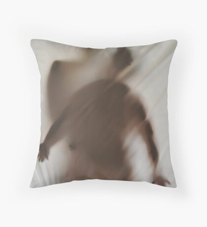 Vertical Dance Throw Pillow