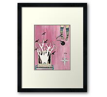 You Are Only Stuck If You Want to be Stuck Framed Print