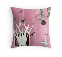 You Are Only Stuck If You Want to be Stuck Throw Pillow