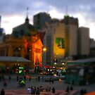 Flinders Street Station by Greg Tippett