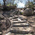 Autumn Climb to Flinders Peak in You Yangs by DianneLac
