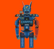 Chappie vector character fanart Kids Clothes