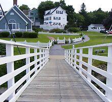 Harbor Walk, Maine  by Thomas Stevens