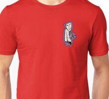 Jazzman Horn - purple background Unisex T-Shirt