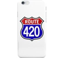 Route 420 iPhone Case/Skin