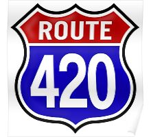 Route 420 Poster