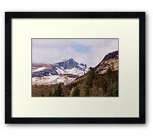 Goatfell Framed Print