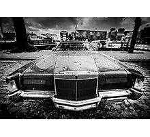 Old American car Photographic Print