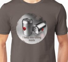 i keep everything inside Unisex T-Shirt