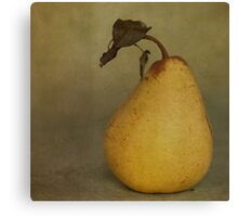 Golden Pear Canvas Print
