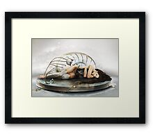 Look Into Framed Print