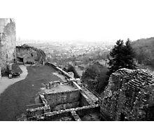 Castle ruin Photographic Print