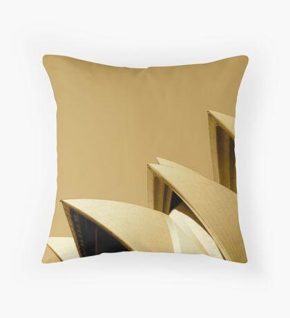 Opera Sails Throw Pillow