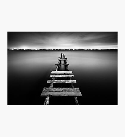 Abandoned Jetty Photographic Print