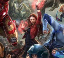 Avengers: Age of Ultron Team Art Sticker