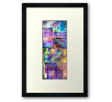 Abstract Composition #2 — April 9, 2010 Framed Print