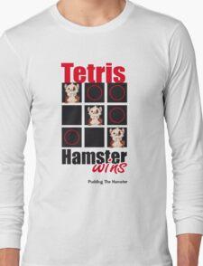 Pudding The Hamster - Tetris Long Sleeve T-Shirt